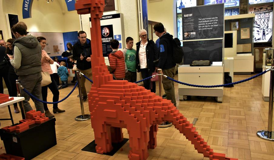 Diplodocus brick build