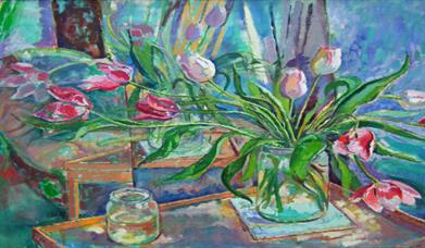 Painting by Phyllis Hargreaves